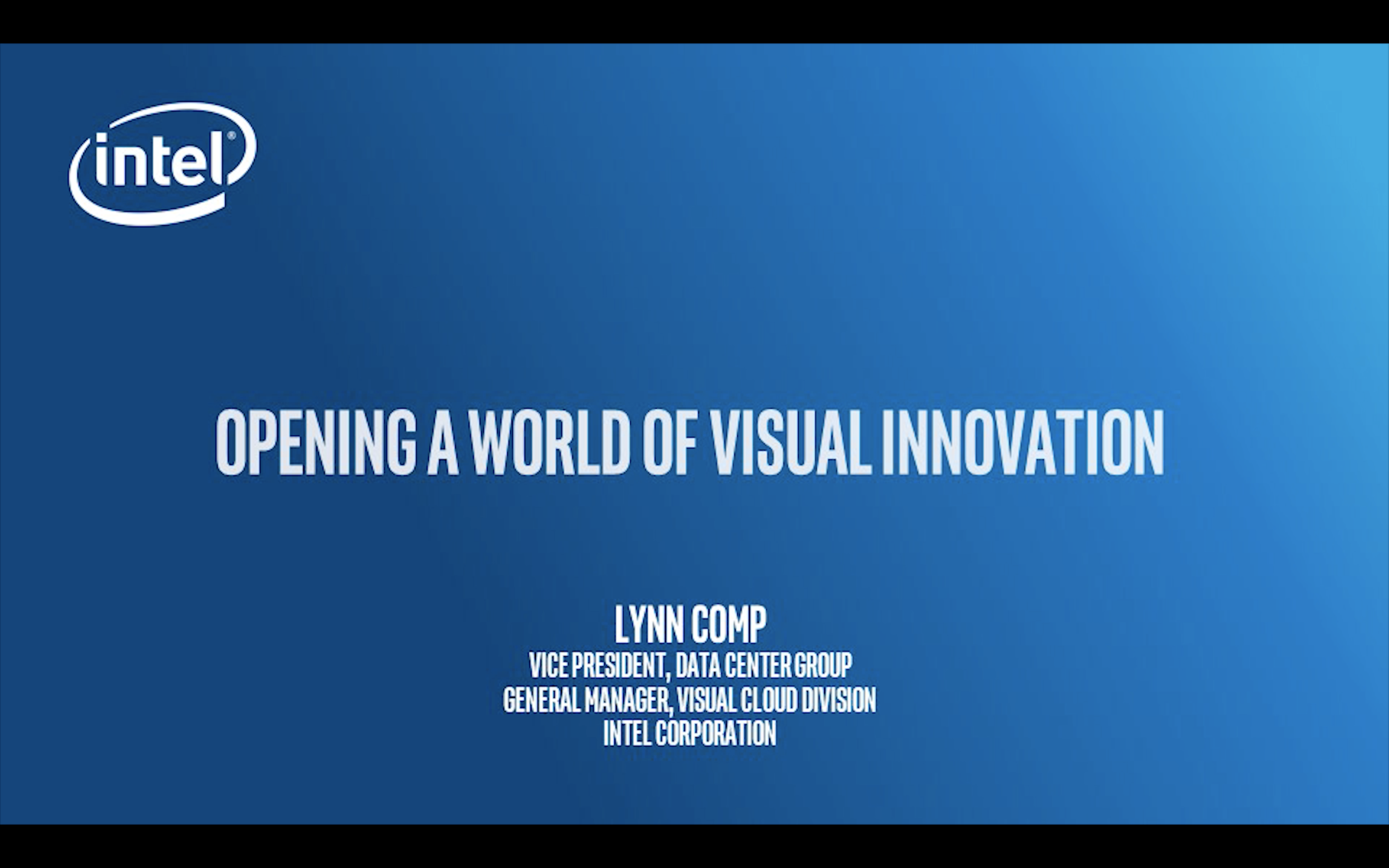 Chapter 1: Opening a World of Visual Innovation