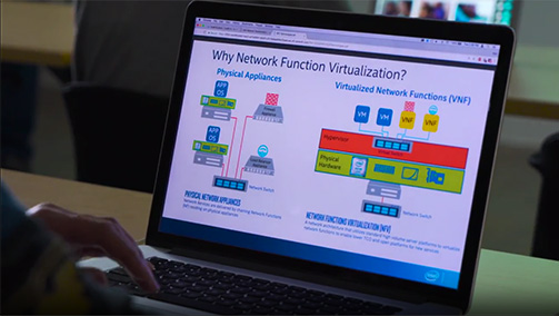 Intel� Network Builders University in Action