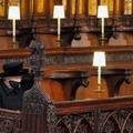 La reine Elizabeth II pendant les funérailles de son époux le prince Philip, le 17 avril 2021 à Windsor