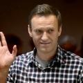 L'opposant russe Alexeï Navalny lors d'une audience judiciaire à Moscou le 20 février 2021