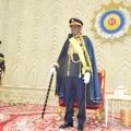 Le président du Tchad, Idriss Déby Itno, lors d'une cérémonie à l'Assemblée nationale lui octroyant le titre de maréchal, le 11 août 2020 à N'Djamena