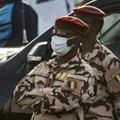 Le général Mahamat Idriss Déby, chef de la garde présidentielle et fils du président défunt Idriss Deby Itno le 9 avril 2021 à N'Djamena