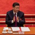 Le président chinois Xi Jinping au Palais du Peuple, le 11 mars 2021 à Pékin