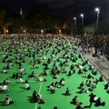 Des militants pro-démocratie marquent l'anniversaire de la répression sanglante de Tiananmen à Pékin, après que le rassemblement annuel habituel a été interdit par les autorités au nom de la lutte ant