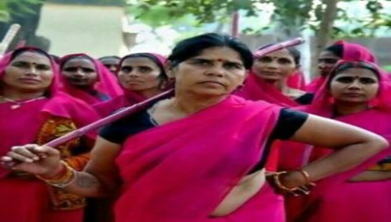 """THE PINK GANG""  ALSO CALLED THE ""GULABI GANG"""