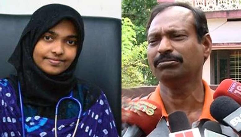 Love jihad Victim's dad joins BJP in Kerala