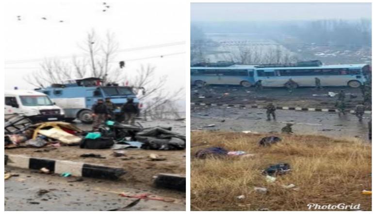 காஷ்மீரில் தற்கொலைத் தாக்குதல் - 43 வீரர்கள் பலி