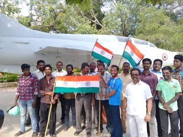 பாகிஸ்தான் தீவிரவாதிகள் மீது தாக்குதல் நடத்திய இந்திய விமானப்படைக்கு வாழ்த்து