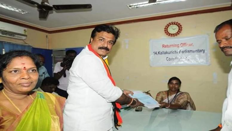 L.K. சுதீஷ் வேட்புமனு தாக்கல்