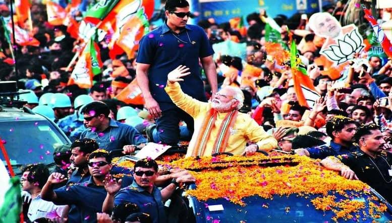 """பயங்கரவாதத்துக்கு """"புதிய இந்தியா"""" பதிலடி - பிரதமர் மோடி"""
