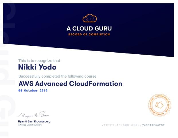 AWS Advanced CloudFormation