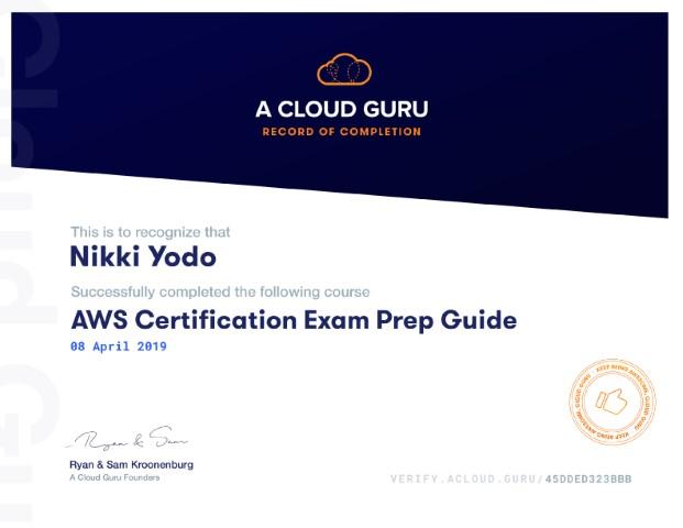 Certification Exam Prep Guide