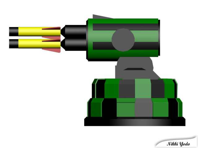 USB Missile Launcher Left View