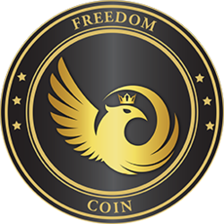 The Freedom Coin logo