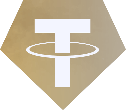 Tether Gold logo