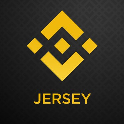 Binance Jersey logo