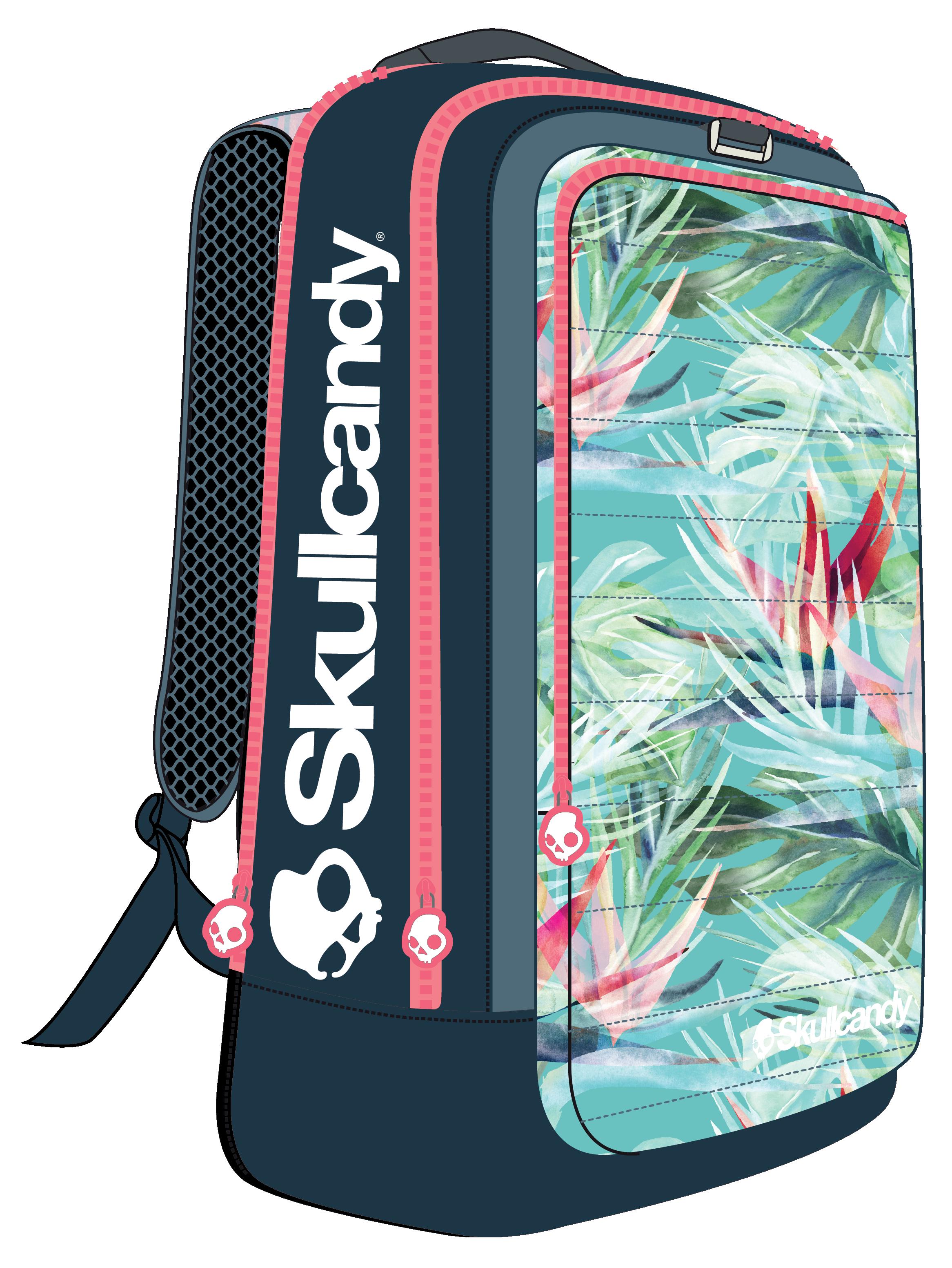 Skullcandy Square Backpack - Tropical