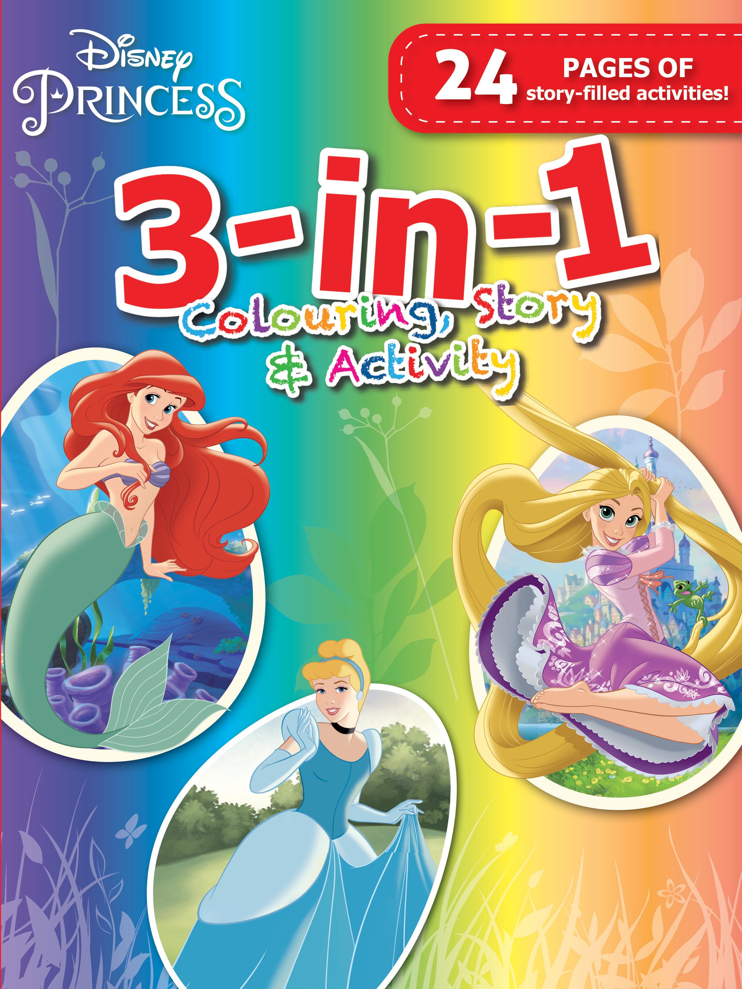 Disney Princess - 3-In-1