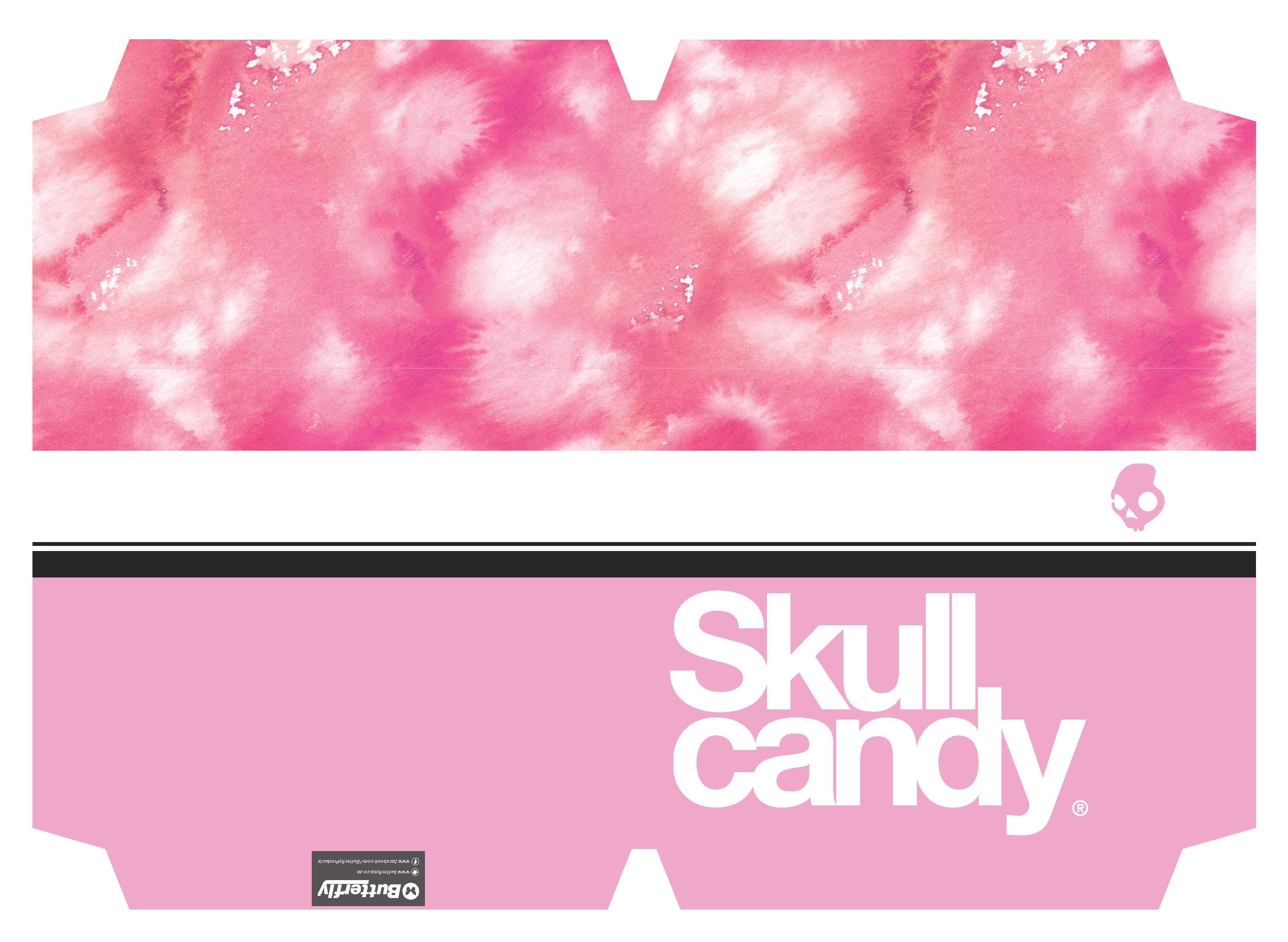 Skullcandy Girls - A4 Precut Book Cover - 5 Pack