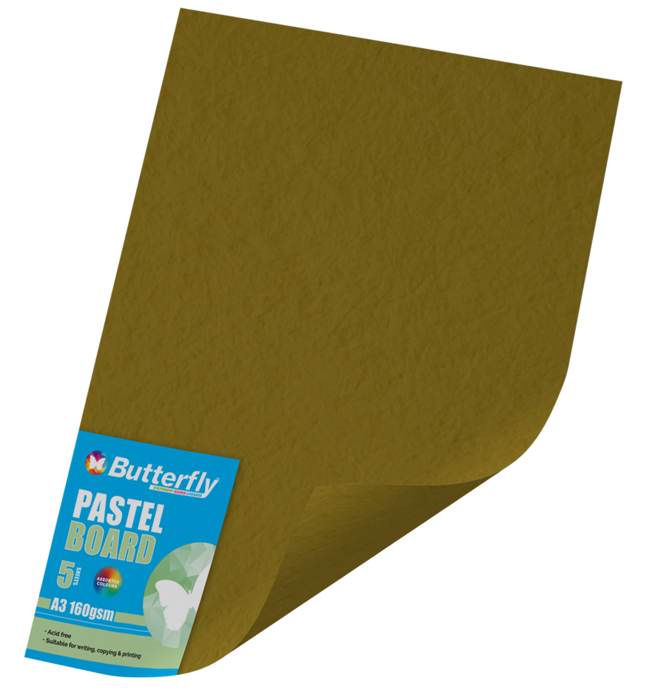 A3 Pastel Board - Pack of 5 Gold