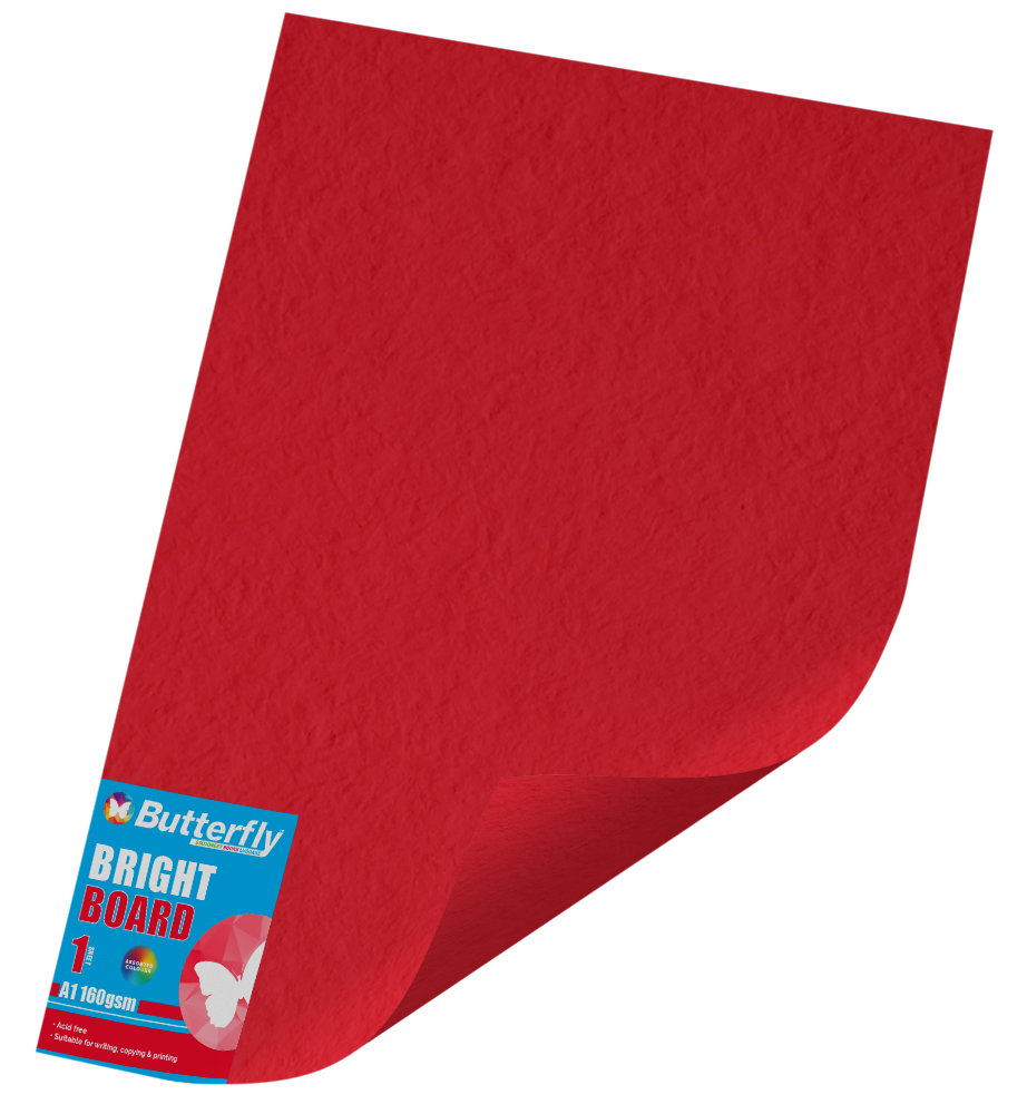 Assorted A1 Bright Board - 160gsm Single Unwrapped