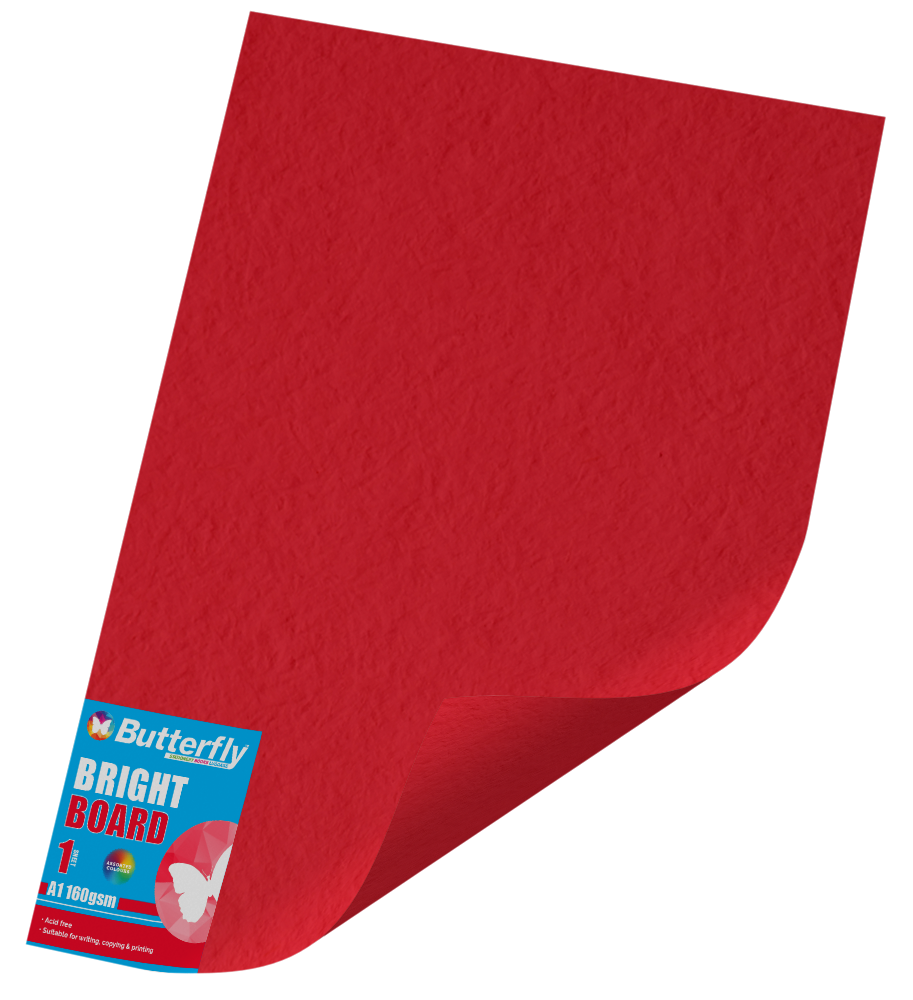 Assorted A1 Bright Board - 160gsm Single Wrapped
