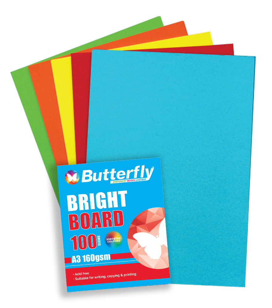 Mixed A3 Bright Board - Pack of 100