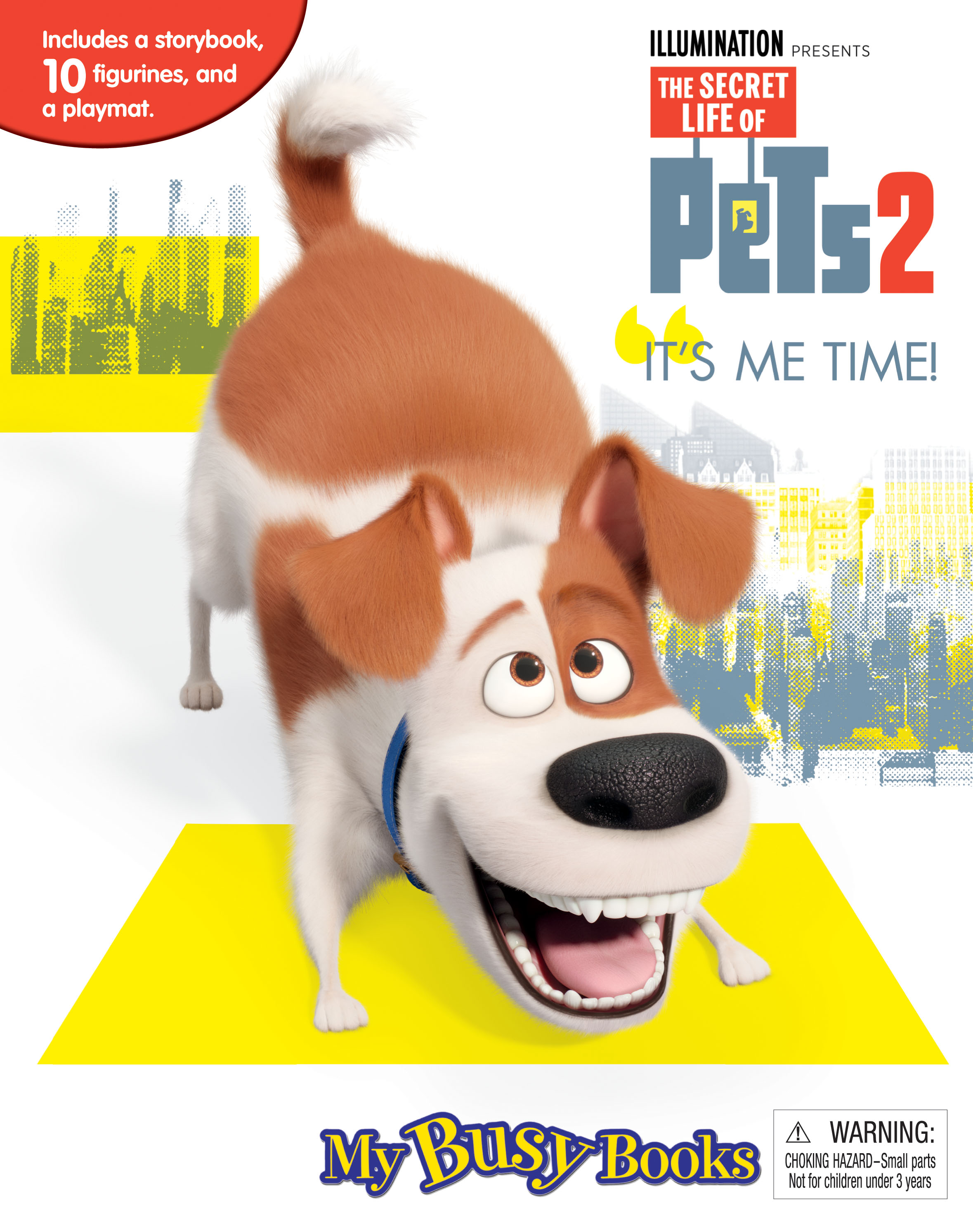 My Secret Life Of Pet 2 - My Busy Book