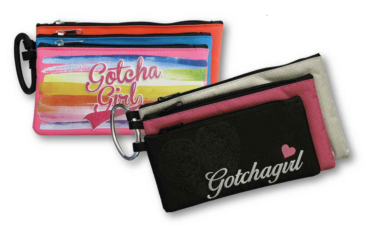 Gotcha Girls - 3 Compartment Pencil Case 23cm