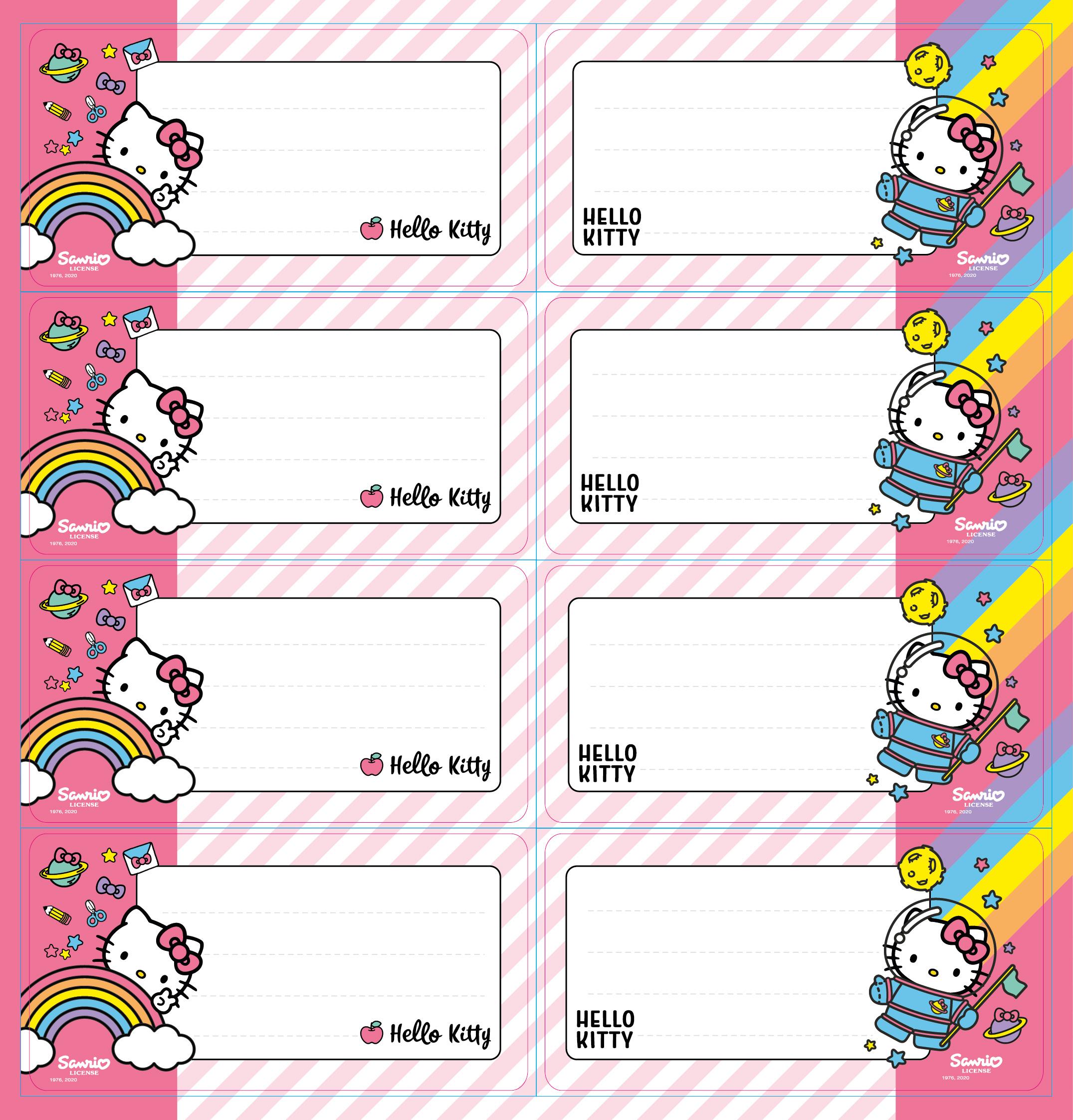 Hello Kitty - Self Adhesive Labels 16
