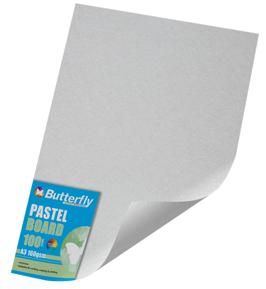 A3 Pastel Board - Pack of 100 White