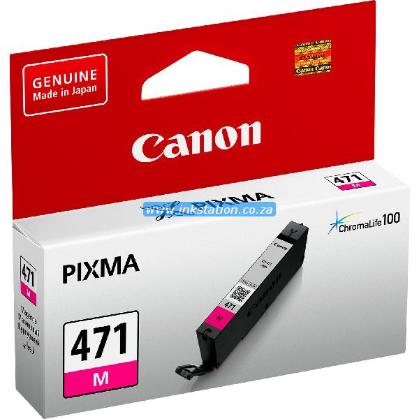 Canon CLI-471 Magenta Ink cartridge - MG5740, MG7740 = 298 pages
