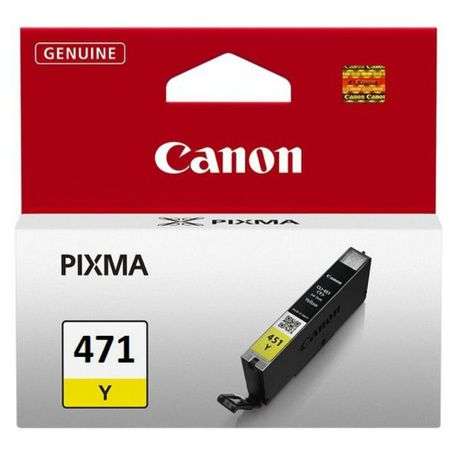 Canon CLI-471 Yellow Ink Cartridge - MG5740, MG7740 = 330 pages