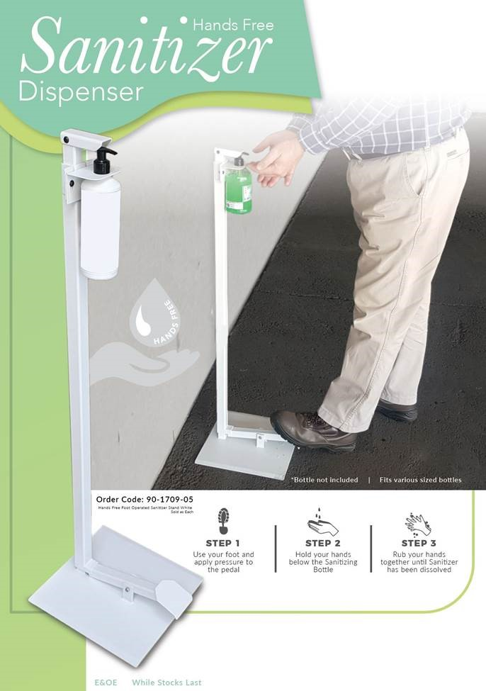 Sanitizer Hands Free Dispenser