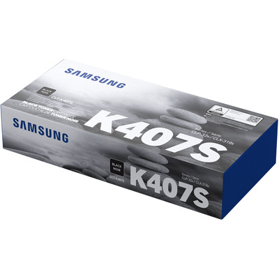 SAMSUNG CLT-K407S BLACK TONER CARTRIDGE FOR CLP320/325W/CLX3185 SERIES (PAGE YIELD 1500)