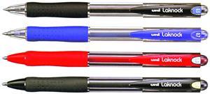 Uni Lacknock Black Ballpoint Pen