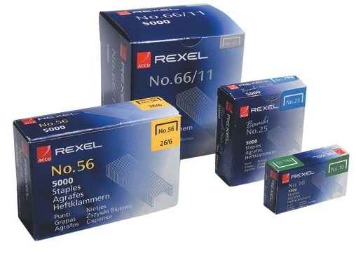 Rexel 23-10 Staples 1000's(60 Sheet Capacity)