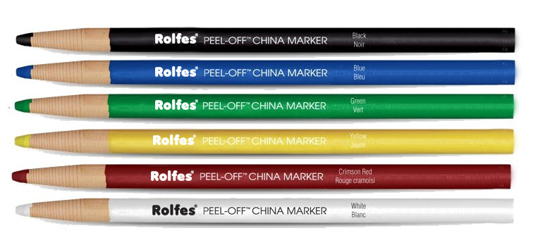 Rolfes China Marker Blue