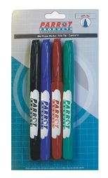 Parrot Marker Wet-Erase Fine Carded 4