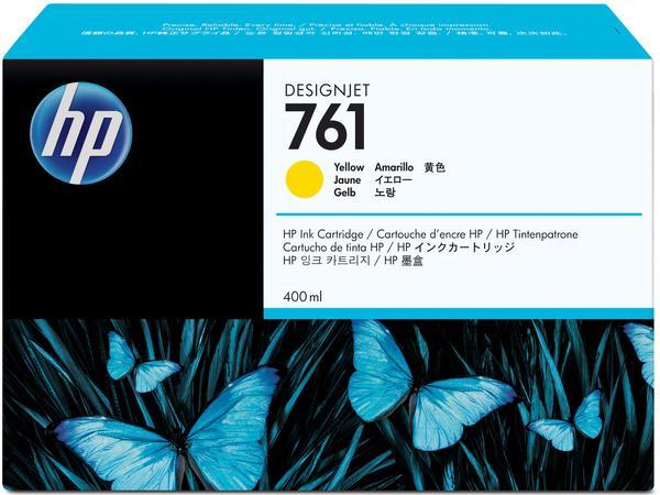 HP 761 400ML Yellow  Ink Cartridge/Designjet T7100