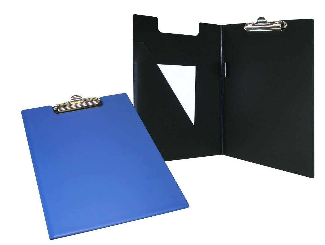 Bantex A4 PVC Clipboard Blue