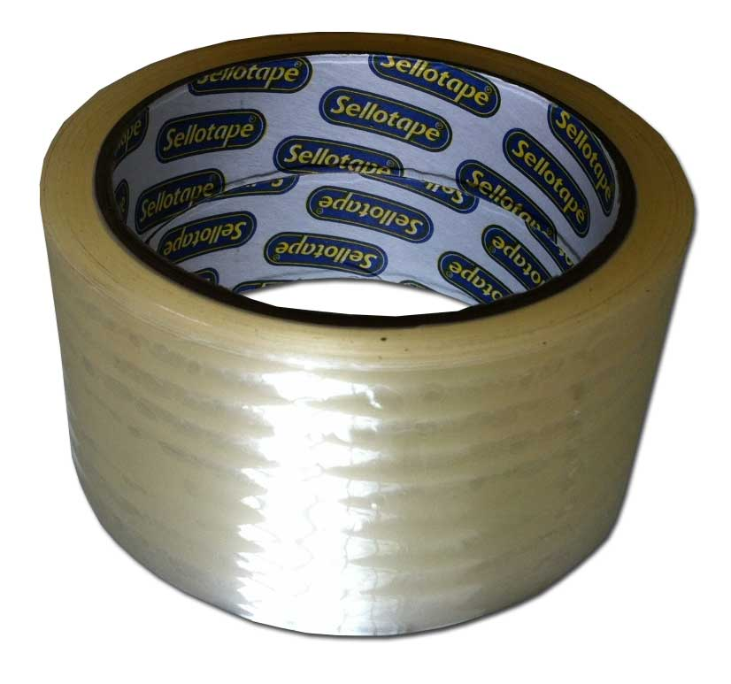 Sellotape Clear Packaging Tape 48mm x 100m