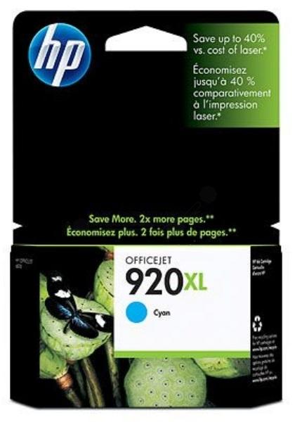 HP 920XL Cyan Officejet Ink Cartridge