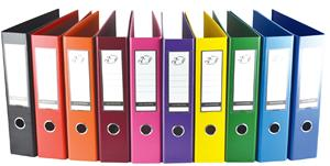 A4 PP Lever Arch File Yellow