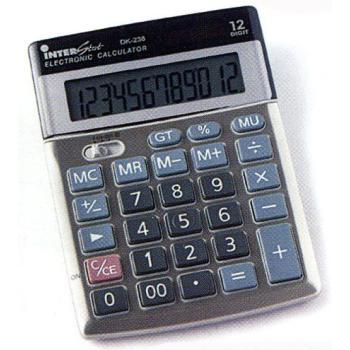 DK238 12 Digit Desktop Calculator