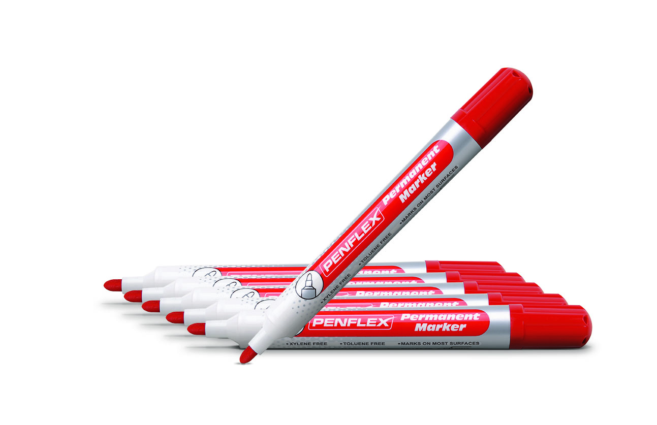 Penflex PM15 Perm.Bullet Red Marker