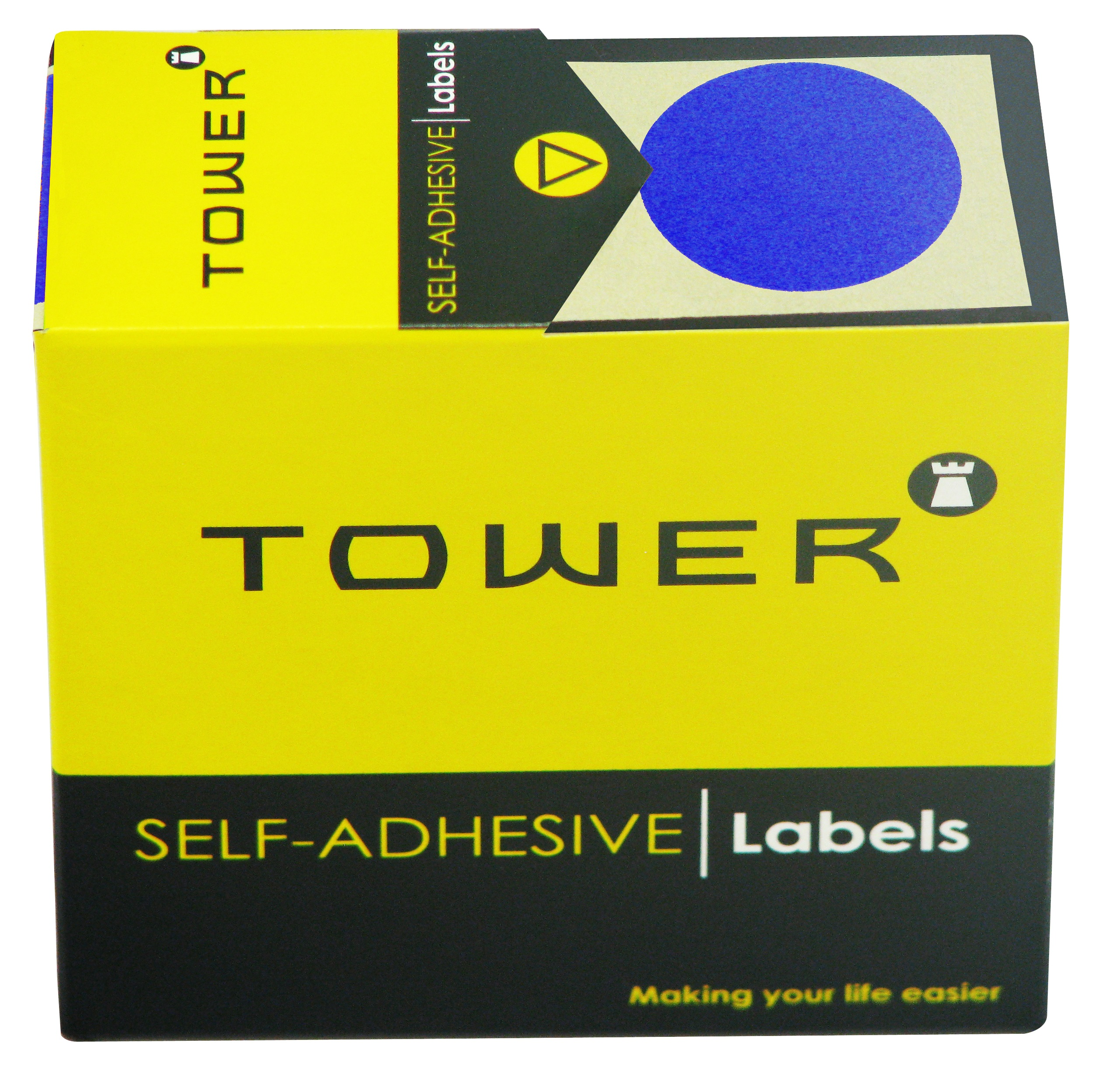 Tower C32 Label Blue