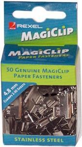 Rexel Magiclips 4.8 Box 50