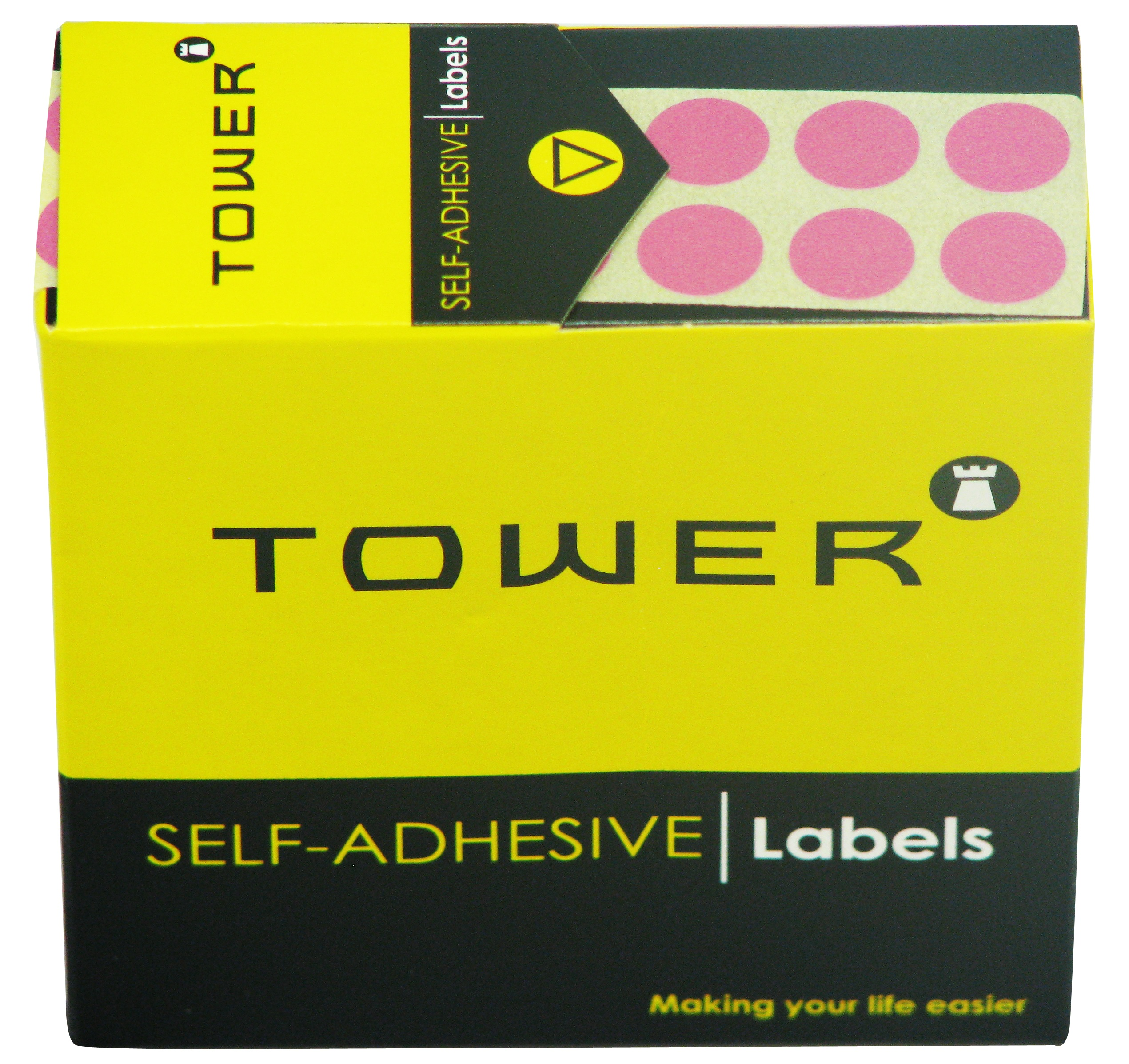 Tower C10 Label Pink