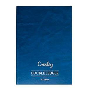 Croxley JD166 2Quire Dbl Ledger